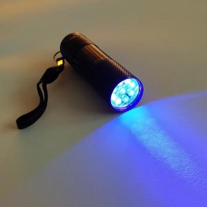 Schwarzlicht Taschenlampe - Klein 9 LED