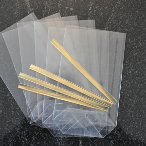 Equipement – bombes de bain – sachets de cellophane