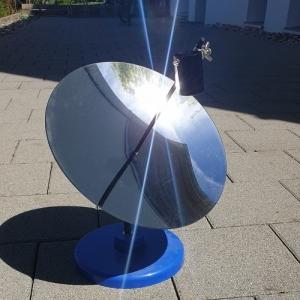 SolarMirror - Parabolspiegel als thermische Kraftwerk